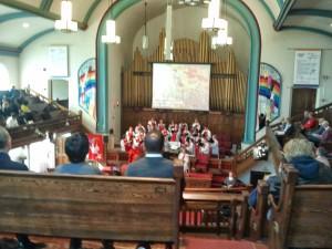 Uvnitř kostela MCC Toronto